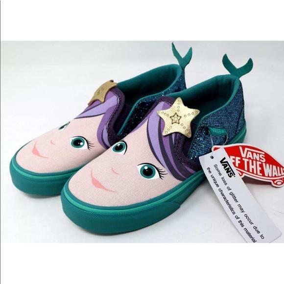 9e189f8e935 Vans Toddler Asher V Mermaid Shoes NIB